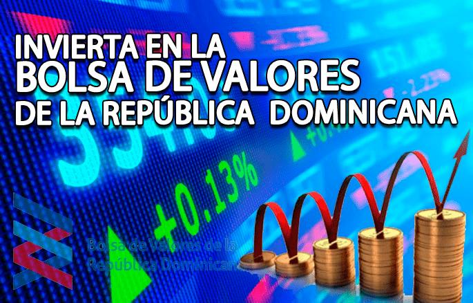 Invierta en la bolsa de valore de la Republica Dominicana
