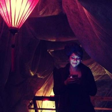 2013 - Me at a Arabian Nights-party
