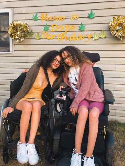Ladys bringing awareness of cannabis relief