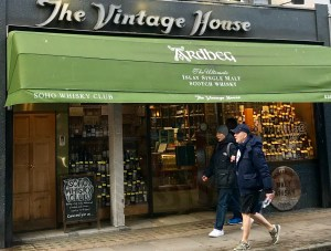 Een whiskytempel: The Vintage House