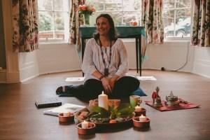 Meditation retreat, group session
