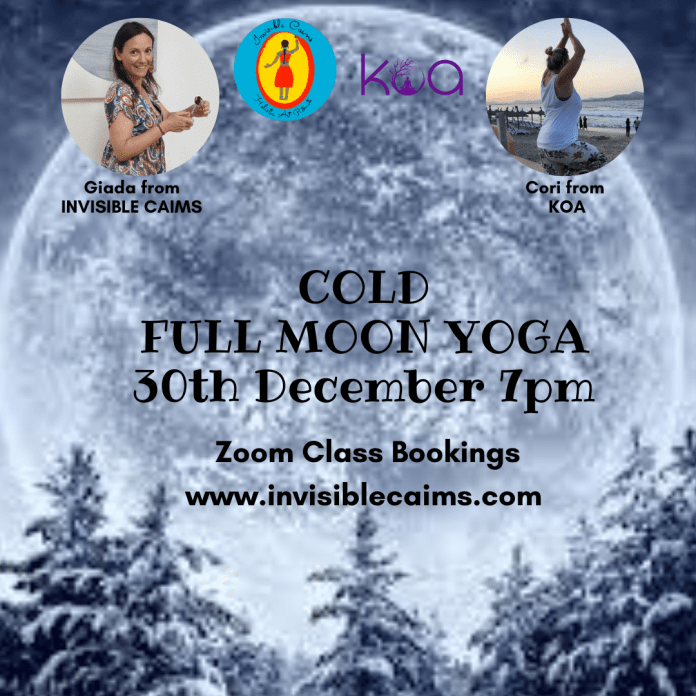 Cold Full Moon Yoga