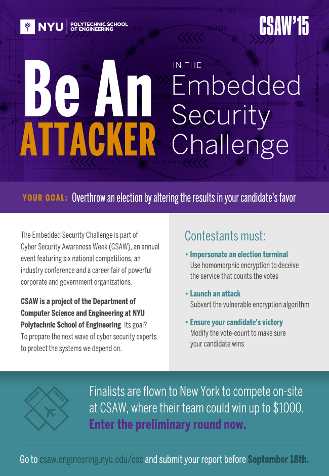 Embedded Security Challenge mailing