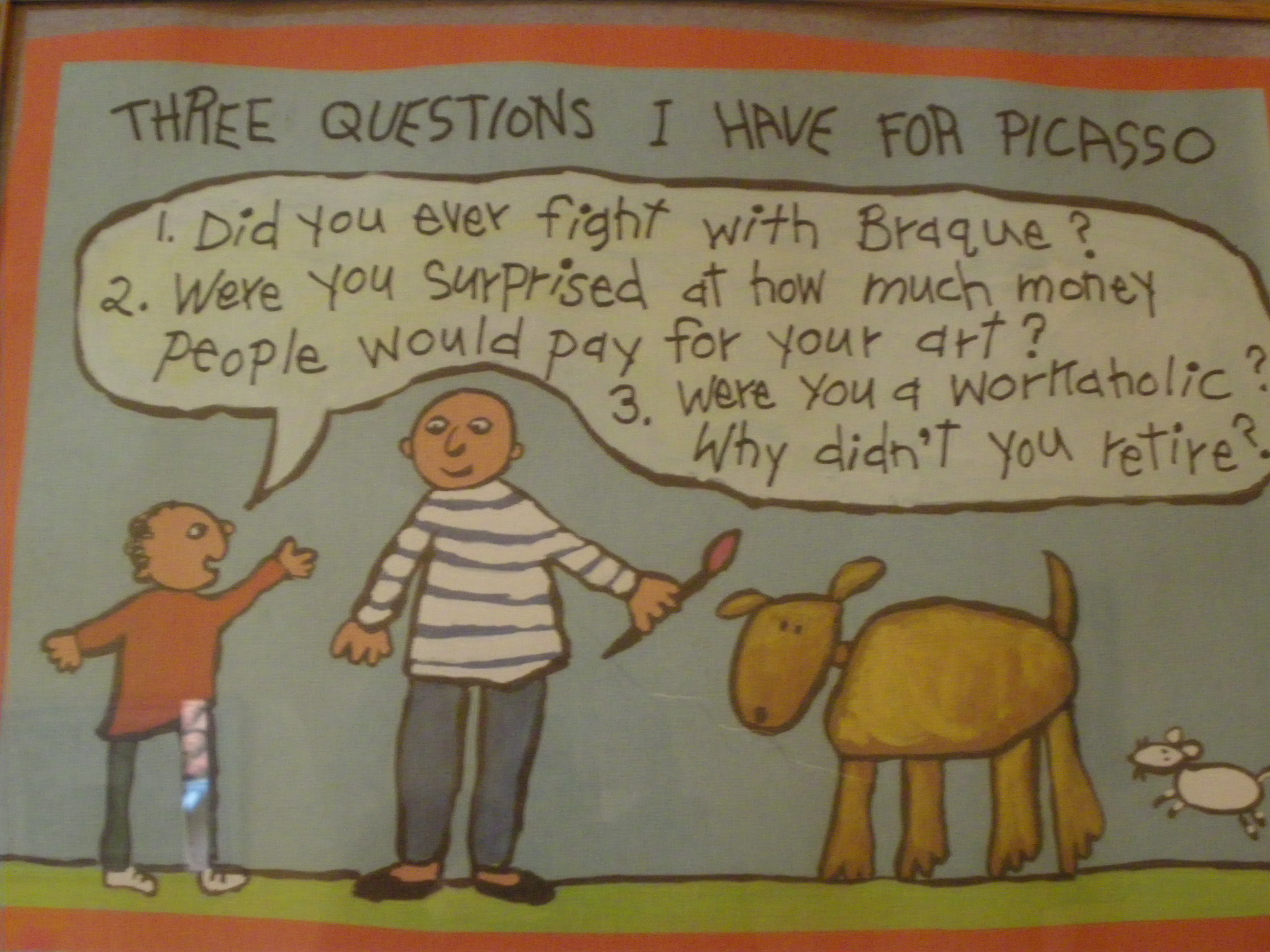 That´s actually 4 questions.