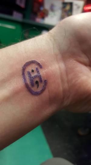 Cluster Headache Tattoo