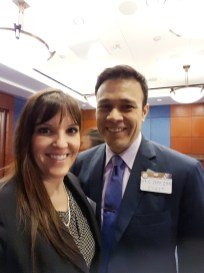 Michele and Bert attending Headache on the Hill in 2017