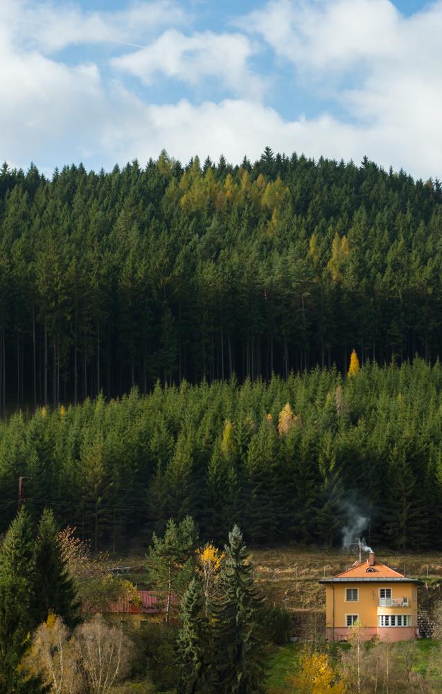 fall landscape czech