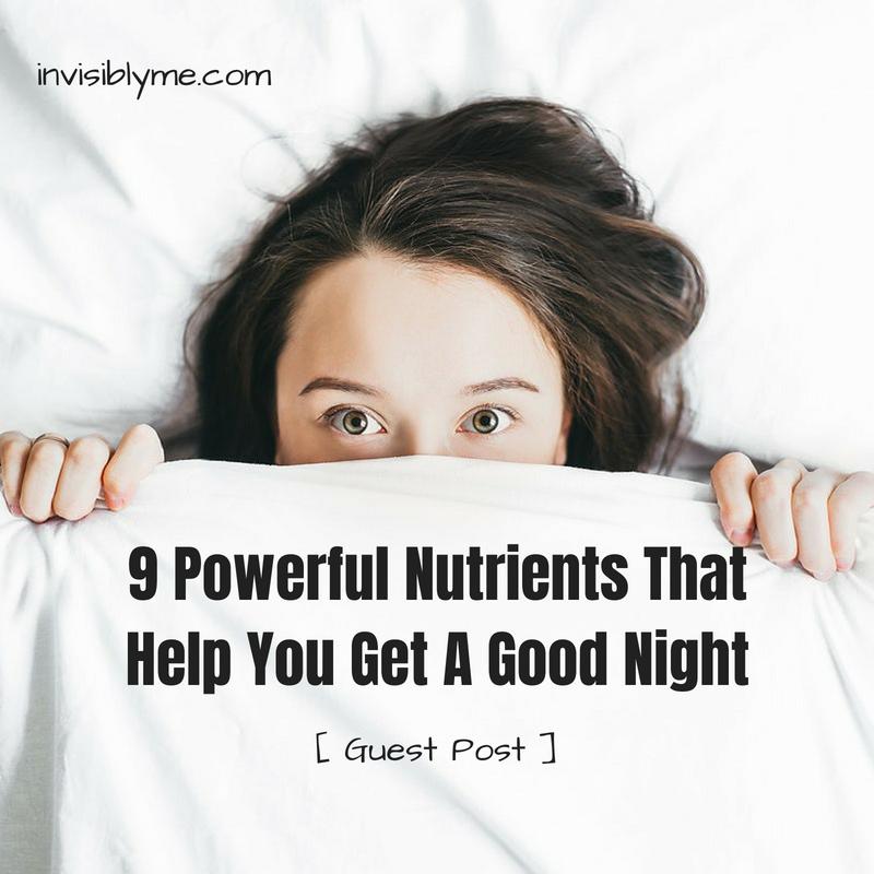 9 Nutrients For A Good Night's Sleep