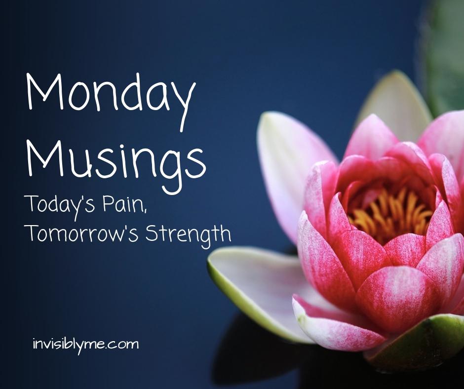 Monday Motivation : Today's Pain, Tomorrow's Strength