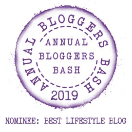 The Bloggers Bash Nominee Badge.