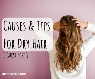 Causes Treatments For Dry Hair Guest Post Invisibly Me