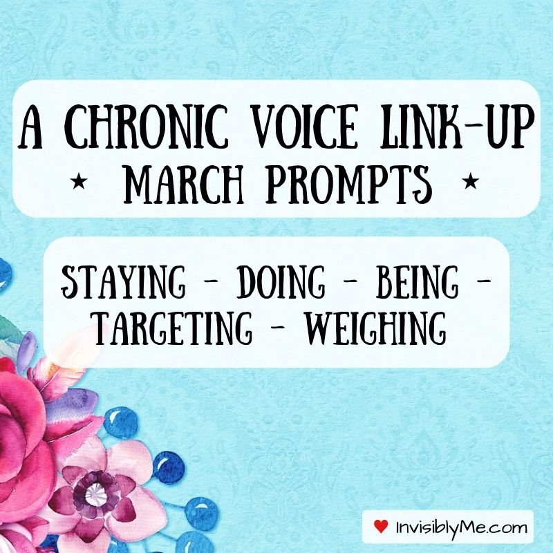 A Chronic Voice Link-Up: March Prompts