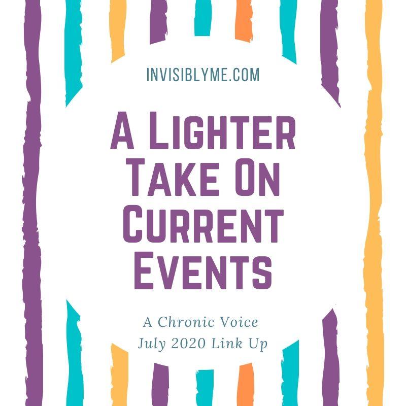 A Lighter Take On Current Events [ July Link Up ]