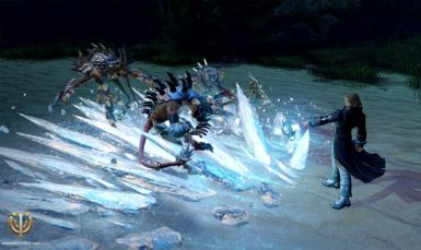 Cryomancer_confronts_the_Death_army_on_the_Okki_island