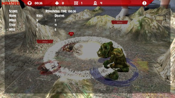 Monsters Multi-Player AR (Live Game Board) - 05