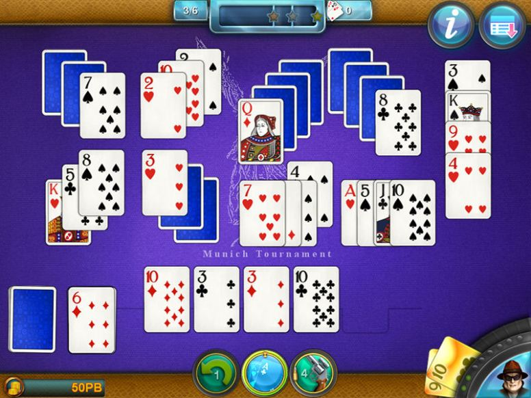 Royal Flush Solitaire (iOS & Android) - 01