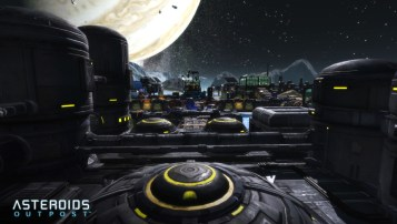Asteroids Outpost Base Screen