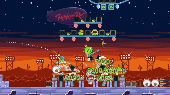 Rock in Rio_Angry Birds Friends screenshot _4