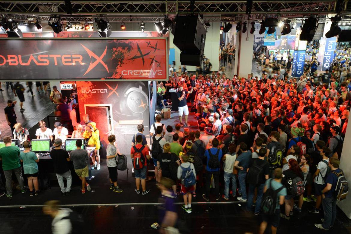 gamescom 2015_BlasterX Stage