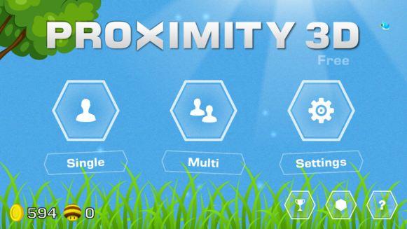Proximity 3D (iOS & Android) - 01