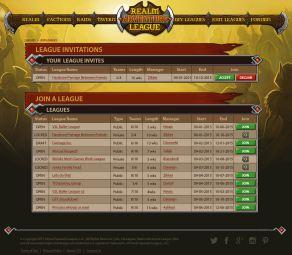 RAL 01 League-JoinLeaguesScreen