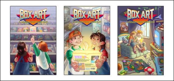 Box Art Promo Triplicate