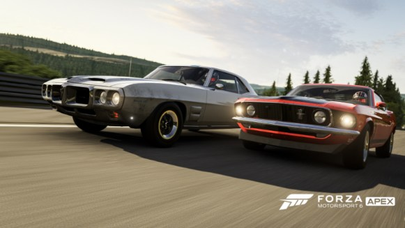 Day racing in Forza Motorsport 6: Apex