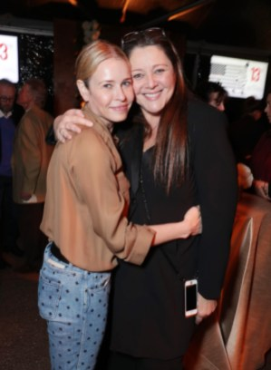 "Chelsea Handler and Camryn Manheim seen at Netflix's original documentary ""13TH"" reception hosted by Netflix Chief Content Officer Ted Sarandos and Ambassador Nicole Avant with a special conversation moderated by Oprah Winfrey with director Ava DuVernay and Van Jones] on Sunday, January 15, 2017, in Los Angeles, CA. (Photo by Eric Charbonneau/Invision for Netflix/AP Images)"