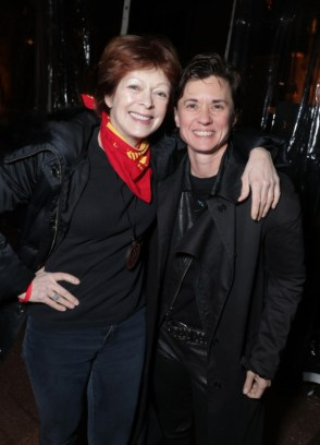 """Frances Fisher and Kimberly Peirce seen at Netflix's original documentary """"13TH"""" reception hosted by Netflix Chief Content Officer Ted Sarandos and Ambassador Nicole Avant with a special conversation moderated by Oprah Winfrey with director Ava DuVernay and Van Jones] on Sunday, January 15, 2017, in Los Angeles, CA. (Photo by Eric Charbonneau/Invision for Netflix/AP Images)"""
