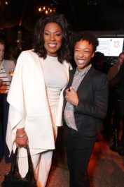 "Lorraine Toussaint and Samira Wiley seen at Netflix's original documentary ""13TH"" reception hosted by Netflix Chief Content Officer Ted Sarandos and Ambassador Nicole Avant with a special conversation moderated by Oprah Winfrey with director Ava DuVernay and Van Jones] on Sunday, January 15, 2017, in Los Angeles, CA. (Photo by Eric Charbonneau/Invision for Netflix/AP Images)"