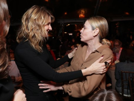 "Laura Dern and Chelsea Handler seen at Netflix's original documentary ""13TH"" reception hosted by Netflix Chief Content Officer Ted Sarandos and Ambassador Nicole Avant with a special conversation moderated by Oprah Winfrey with director Ava DuVernay and Van Jones] on Sunday, January 15, 2017, in Los Angeles, CA. (Photo by Eric Charbonneau/Invision for Netflix/AP Images)"