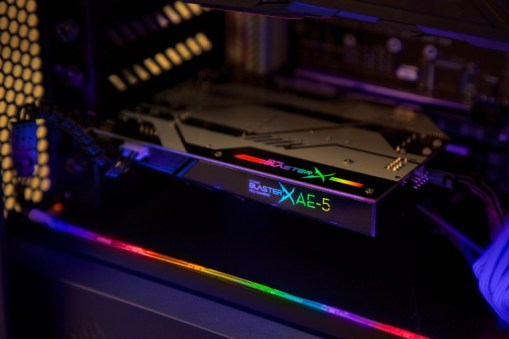 Sound BlasterX AE-5 with Integrated RGB Controller Powers Up LED Strips (PRNewsfoto/Creative Technology Ltd)