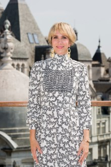 LONDON, ENGLAND - JUNE 21: Kristen Wiig attend photo call in London to celebrate the release of DESPICABLE ME 3 on June 30th at Corinthia Hotel London on June 21, 2017 in London, England. (Photo by Tristan Fewings/Getty Images for Universal Pictures UK) *** Local Caption *** Kristen Wiig