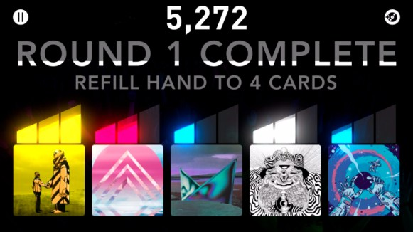 DropMix App Party Mode -End of Round