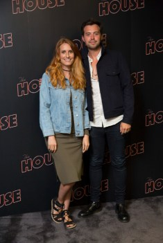 LONDON UK : Sophie Eggleton and guest attend the Casino Screening of The House. (Credit James GIllham/StillMoving)