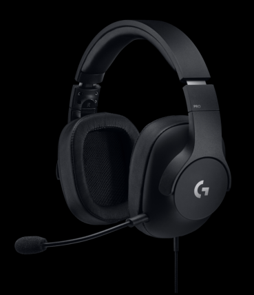 High_Resolution_PNG-Logitech G Pro Gaming Headset FRONT3QT
