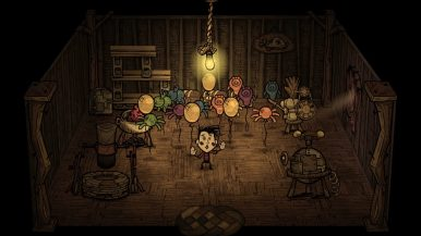 Don't Starve Hamlet Wes - house balloons