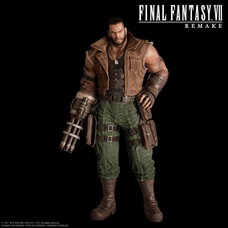 Final Fantasy Vii Remake Package Art Revealed Invision