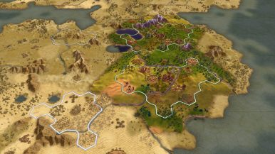 Civilization VI Console - City Planning