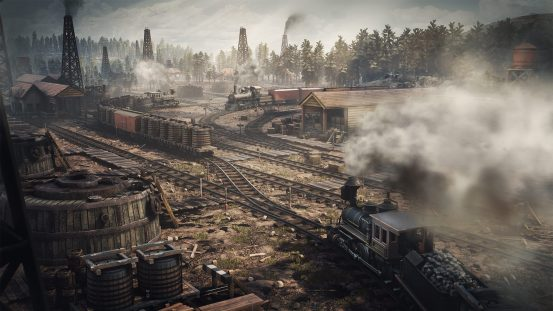 Railroad Corporation - Transport 1920x1080