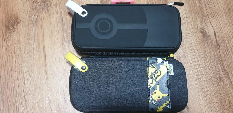 Poké Ball and Pikachu Travel Cases