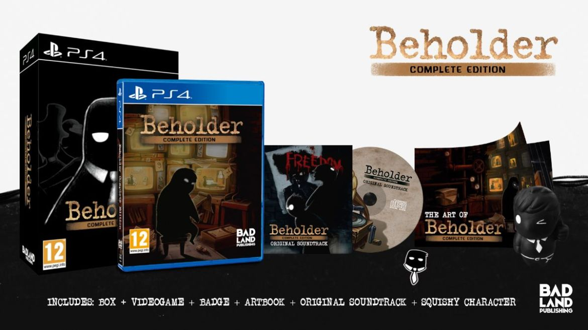 Beholder: Complete Edition Collector's Edition