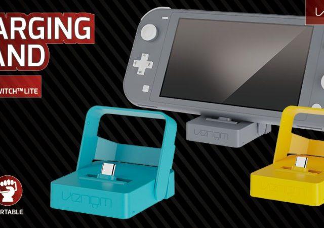Venom Nintendo Switch Lite charging Stand