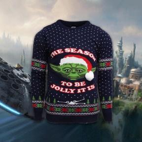 Yoda Xmas Jumper Socials