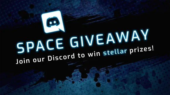 space giveaway