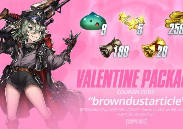 Brown Dust's Valentine Update