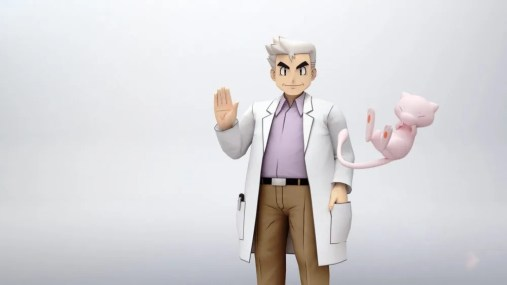 Professor Oak & Mew - Trailer Screenshot