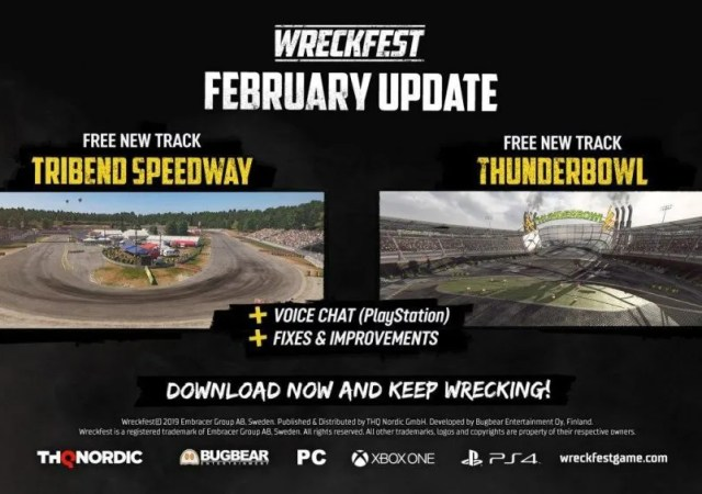 The Wreckfest February Update