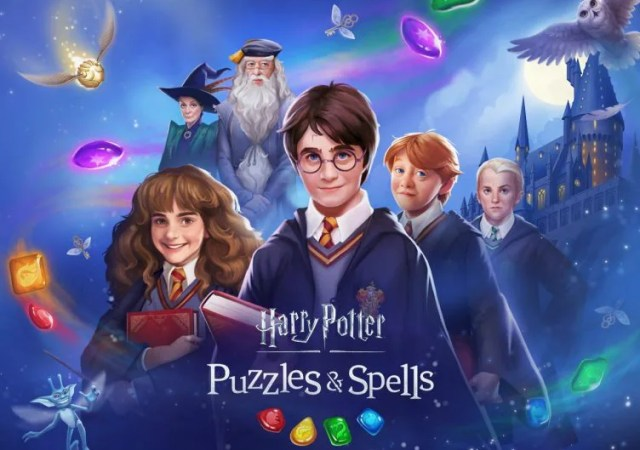 Harry Potter Puzzles & Spells