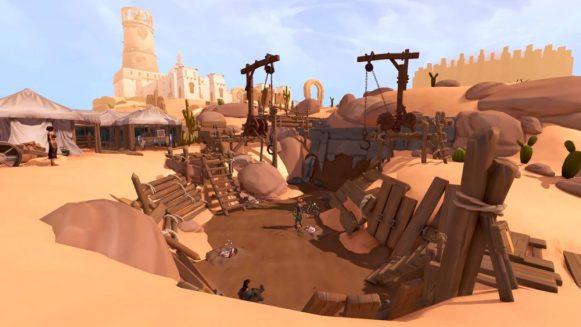 Kharid-Et (outside) - Dig Site